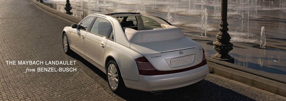 The Maybach Landaulet from Benzel-Busch