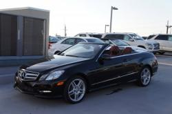 2013 Mercedes-Benz E550 Coupe CabrioletB RoadsterIOLET